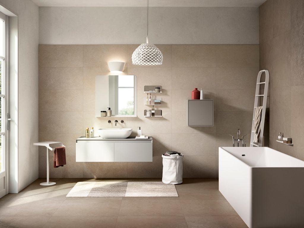 Porcelain tiles that look like Venetian Plaster