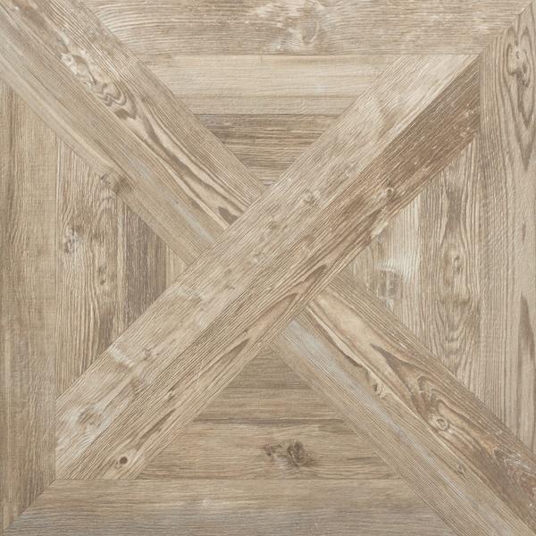 Porcelain Tiles That Look Like Assembled Parquet Panels